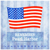 Pearl Harbor illustration Stock Photography