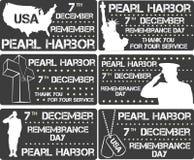 Pearl Harbor Jour de souvenir Photo libre de droits