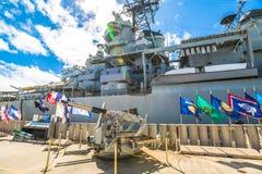 Pearl Harbor machine gun Stock Photography