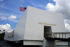 Pearl Harbor Memorial, O'ahu, Hawaii, USA Royalty Free Stock Image
