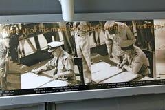 Pearl Harbor, Traité de reddition d'Hawaï photo libre de droits