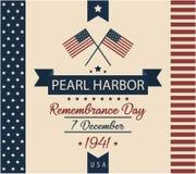 Pearl Harbour wspominania dzień Fotografia Stock