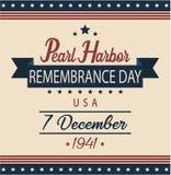 Pearl Harbour wspominania dzień Obraz Stock