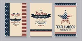 Pearl Harbour wspominania dzień Obrazy Royalty Free