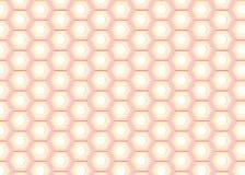 Pearl Hexagon Pattern stock illustration
