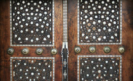 Pearl Inlaid Door Stock Photography