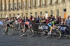 Pearl Izumi Tour Series Bicycle Race Final in Bath England Stock Images
