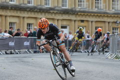 Pearl Izumi Tour Series Bicycle Race Final in Bath England Royalty Free Stock Photography