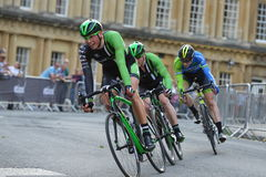 Pearl Izumi Tour Series Bicycle Race Final in Bath England Royalty Free Stock Photos