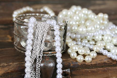 Pearl Jewelery Stock Photography