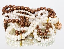Pearl jewelry Royalty Free Stock Photo