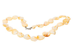 Pearl jewelry necklace Royalty Free Stock Images