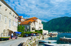 The pearl of Kotor bay Royalty Free Stock Photos