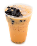 Pearl milk tea Royalty Free Stock Image