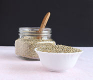 Pearl Millet in a Bowl Stock Images