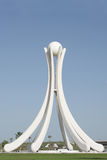 Pearl Monument With Six Dhow Sails And A Pearl Royalty Free Stock Photos