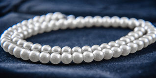 Pearl neaklace Royalty Free Stock Photos
