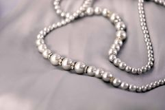 Pearl neaklace Stock Photo