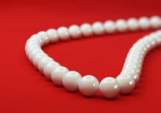 Pearl necklace. Pearl jewelry, pearl Stock Photo