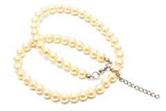 Pearl Necklace Stock Photography