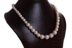 Pearl Necklace Royalty Free Stock Photo