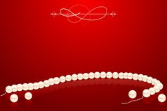Pearl Necklace Royalty Free Stock Photos