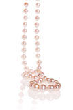 Pearl necklace Stock Images