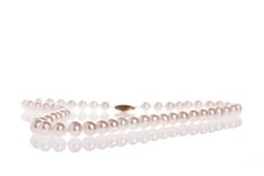 Pearl necklace Royalty Free Stock Image