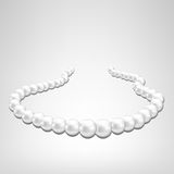 Pearl necklace Royalty Free Stock Images