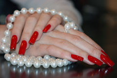 Free Pearl Necklace Stock Image - 7858231