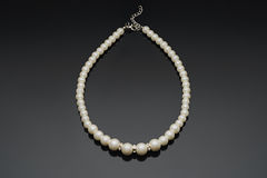 Pearl necklace close up Royalty Free Stock Image