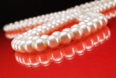 Pearl necklace Royalty Free Stock Photography