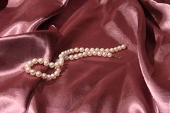 Pearl necklace for you Royalty Free Stock Photos