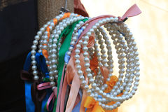 Pearl necklaces Royalty Free Stock Photo