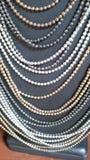 Pearl neckless Stock Photos