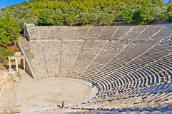 The pearl of Peloponnese Stock Images