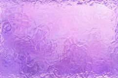 Pearl Pink Ultra Violet Frame Foil Paper Texture Abstract Border Background Royalty Free Stock Photography