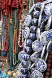 Pearl and porcelain. Antique city of Beijing. This is a very famous market of antique of Beijing Royalty Free Stock Photos