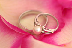 Pearl Ring Royalty Free Stock Images