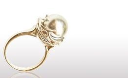 Pearl ring Stock Photos