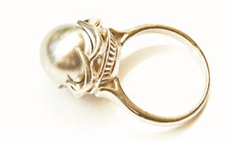 Pearl ring Royalty Free Stock Photography