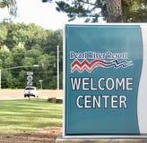 Pearl River Erholungsort-Begrüßungszentrum, Choctaw, Mississippi lizenzfreie stockfotografie