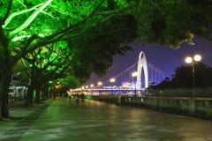 Pearl River Nacht Lizenzfreie Stockfotos