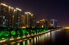 Pearl River Promenade Lizenzfreie Stockfotos