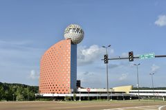 Pearl River Resort Gaming and Casino, Choctaw, Mississippi. Offering fun in every corner, Pearl River Resort is tucked among the towering pines and oak forests royalty free stock images