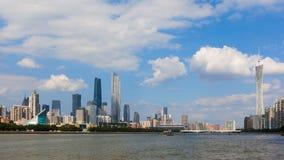 Pearl River Seite in Guangzhou Lizenzfreie Stockfotos