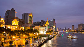 The pearl river side at night 2 Stock Images