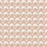 Pearl seamless pattern Stock Images