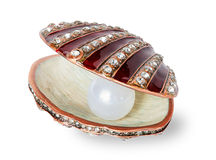 Pearl in a shell Royalty Free Stock Photo