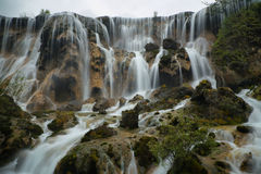 Pearl Shoal falls in Jiuzhaigou, China, Asia Stock Images